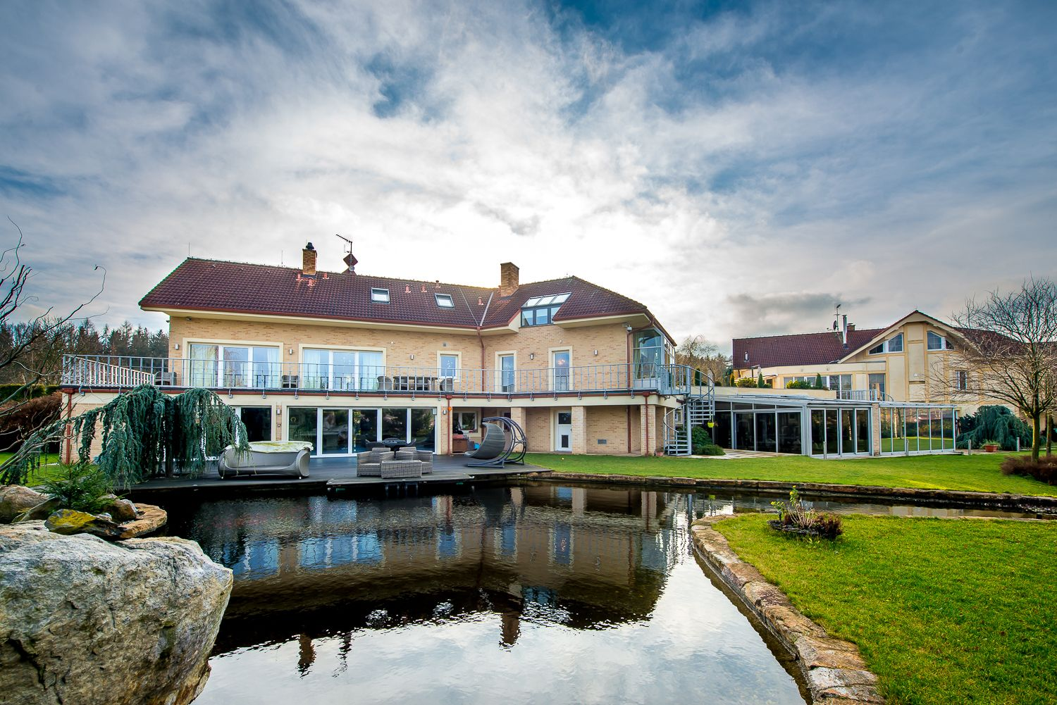 Lesni - luxury residence near Prague
