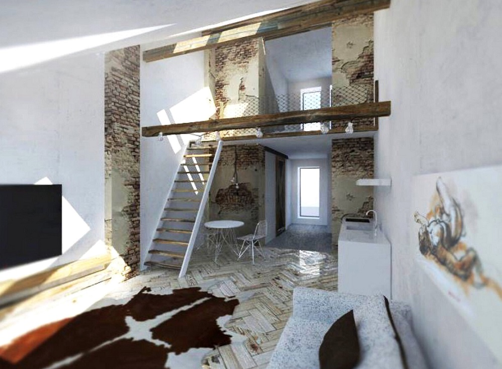 Attic space suitable for reconstruction - detail_2