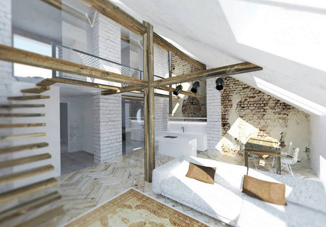 Attic space suitable for reconstruction - detail_4
