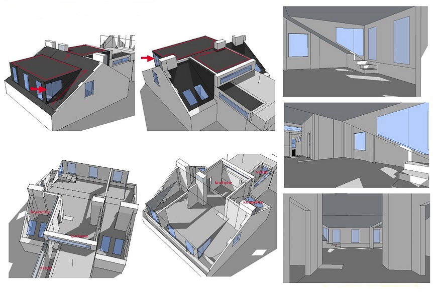 Attic space suitable for reconstruction - detail_8