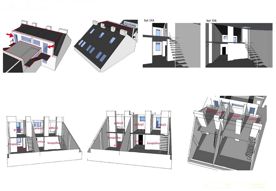 Attic space suitable for reconstruction - detail_9